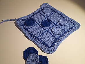 Hračky - Modré piškvorky - 11389575_