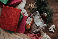 Pyžamy a župany - Vianočný set košieľka Birds + podkolienky podľa vlastného výberu - 11389073_
