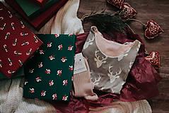Pyžamy a župany - Vianočný set košieľka Forest + podkolienky podľa vlastného výberu - 11389094_