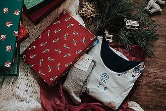 Pyžamy a župany - Vianočný set košieľka Balloons + podkolienky podľa vlastného výberu - 11389048_