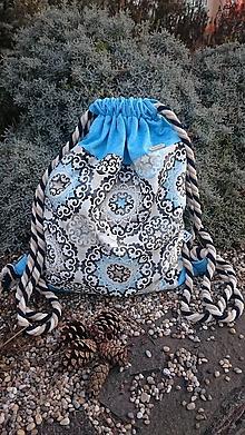 Batohy - Vak v zimnom prevedení s mandalami - 11388734_