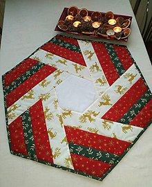 Úžitkový textil - Vianočná štóla - 11390531_