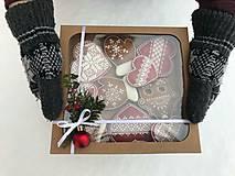Dekorácie - Medovníčky v krabičke - 11389711_
