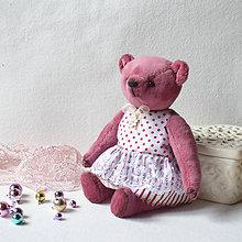 Hračky - Medvedík Lucinka - 11389925_