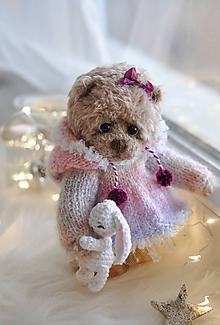 Hračky - Háčkovaný medvedík - 11389995_