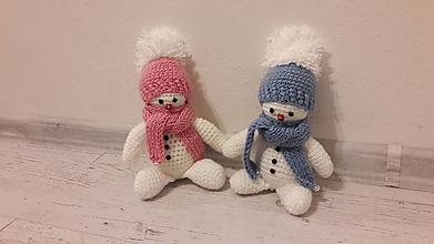 Hračky - snehuliačiky - 11390296_