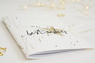 Papiernictvo - Vianočné zápisníky (Hviezdy) - 11392439_
