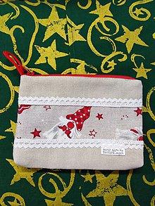 Taštičky - Vianočná taštička 1 - 11392642_