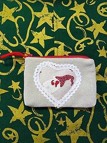 Taštičky - Vianočná taštička 2 - 11393191_