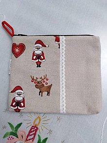 Taštičky - Vianočná taštička 4 - 11393247_