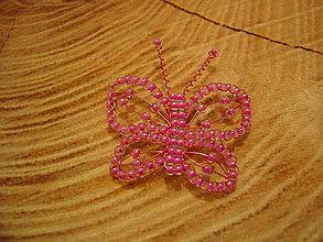 Odznaky/Brošne - Motýlik - 11393668_