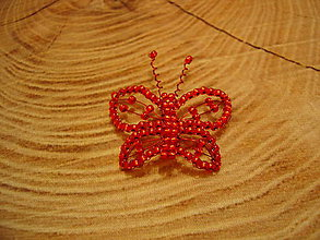 Odznaky/Brošne - Motýlik - 11393786_