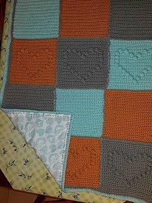 Úžitkový textil - Deka k tv veľká podšitá - 11394157_