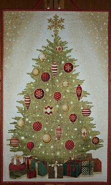 Dekorácie - Stromček - dekorácia závesná - 11392783_