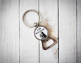 Kľúčenky - Otvárak na fľašu s vlastným motívom - 11391994_
