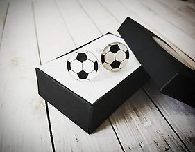 Šperky - Manžetové gombíky pre futbalistu - 11392836_
