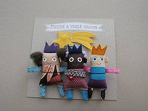 Magnetky - Traja králi a kométa * - 11391739_