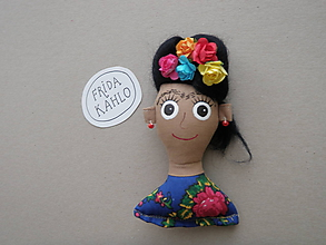 Odznaky/Brošne - Frida Kahlo - brošňa - 11391835_