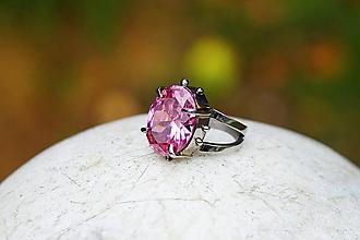 """Prstene - Nerezový prsten... """" Pink future """" - 11393278_"""