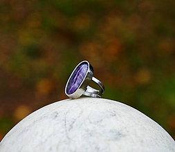 """Prstene - Nerezový prsten... """" Purple """" - 11393342_"""