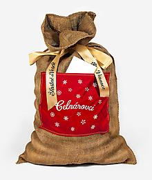 Veľké tašky - Vianočné vrece na darčeky - 11394148_