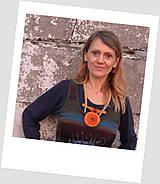 Náhrdelníky - Plstený náhrdelník Mandala - 11393630_