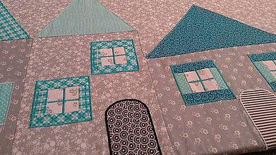 Úžitkový textil - Zástena za posteľ - 11391186_