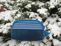 Taštičky - taštička modrá I - 11390998_