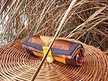 Nákupné tašky - taška oranžový kvet - 11391259_