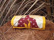 Nákupné tašky - taška oranžová - 11391296_