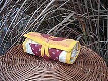 Nákupné tašky - taška oranžová - 11391297_