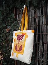 Nákupné tašky - taška oranžová - 11391299_