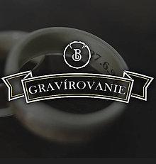 Prstene - Gravírovanie - 11393500_