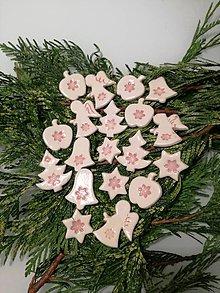 Dekorácie - keramické vianočné ozdoby - 11391226_