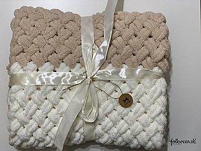 Úžitkový textil - Deky (Žltá) - 11394530_