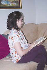 Košele - Blúzka s krátkym rukávom - 11394317_
