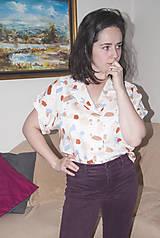 Košele - Blúzka s krátkym rukávom - 11394319_