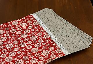 Úžitkový textil - prestierania scandi christmas - 11391240_