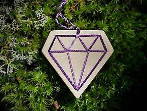 Náhrdelníky - WoBo náhrdelník diamant - 11393945_