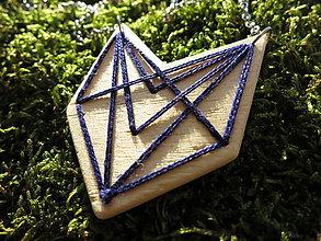 Náhrdelníky - WoBo náhrdelník geometria - 11393971_