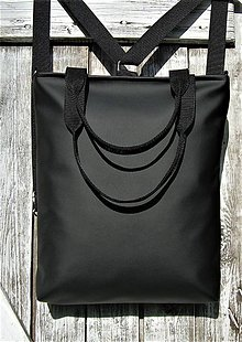 "Batohy - ""backpack 3in1-  basic black"" - Batoh & taška cez rameno - 11393055_"