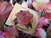 Nádoby - Mini tanierik Ružový - 11393145_