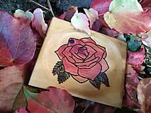 Nádoby - Mini tanierik Ružový - 11393146_