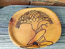 Nádoby - Mini tanierik Celtic Tree - 11393312_