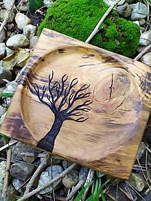 Nádoby - Mini tanierik Arbor - 11393470_