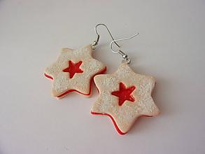 Náušnice - Náušnice hviezdy - 11394965_