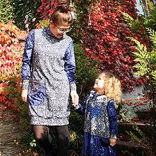 Šaty - Elegancia v modrej... - 11397764_