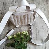 Batohy - CANDY backpack - biela - 11396675_