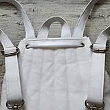 Batohy - CANDY backpack - biela - 11396685_