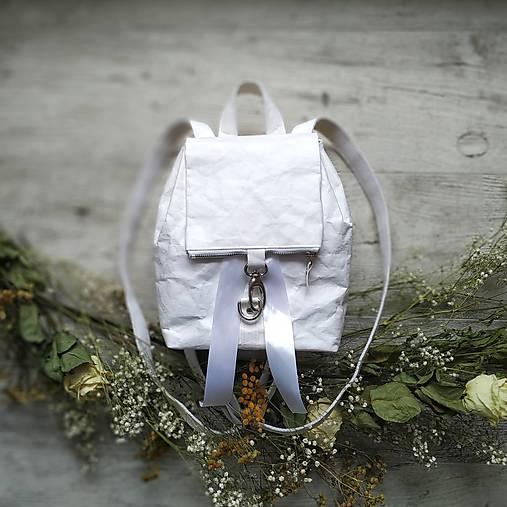 CANDY backpack - biela